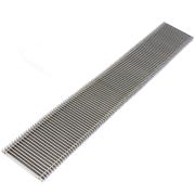 Решетка SGZ - алюминиевая, поперечная (рулонная) с высотой профиля 18 мм (под заказ)