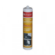 Герметик акриловый противопожарный терморасширяющийся Огнеза-ГТ (310 мл) цвет: серый