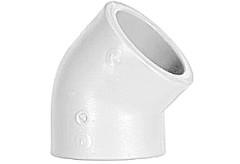 ППР Колено 45 гр.32 B-R белое -