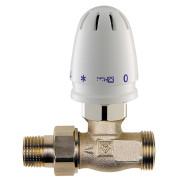 Регулятор-ограничитель температуры Herz, прямой 1/2х3/4 25-60С